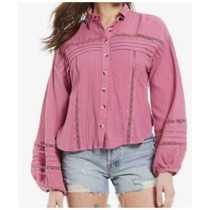 Free People Summer Stars Top Large NWT $128